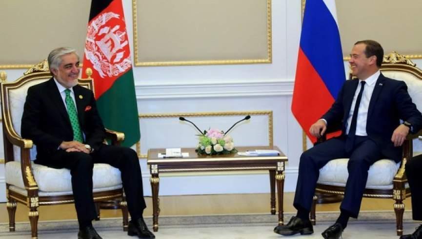 دیدار و گفتگوی عبدالله و مدودوف درباره صلح و همکاری های تجاری