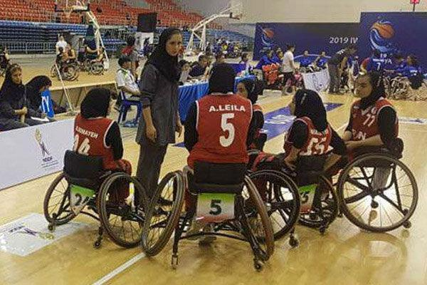 فزونی تیم ملی بسکتبال با ویلچر بانوان در اولین ملاقات