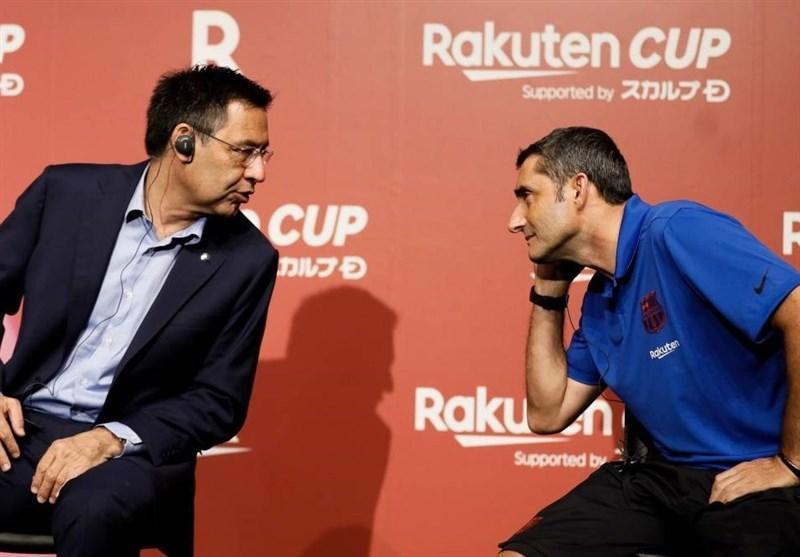 بارتومئو: شاید سه سال فرصت برای والورده کافی باشد، قرارداد مسی را تا زمانی که خودش بخواهد تمدید می کنیم