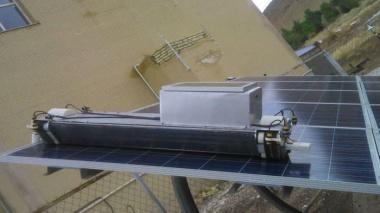 ربات تمیزکننده صفحات خورشیدی طراحی و ساخته شد