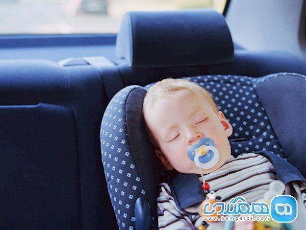 چه کنیم خواب کودک در سفر به هم نریزد؟