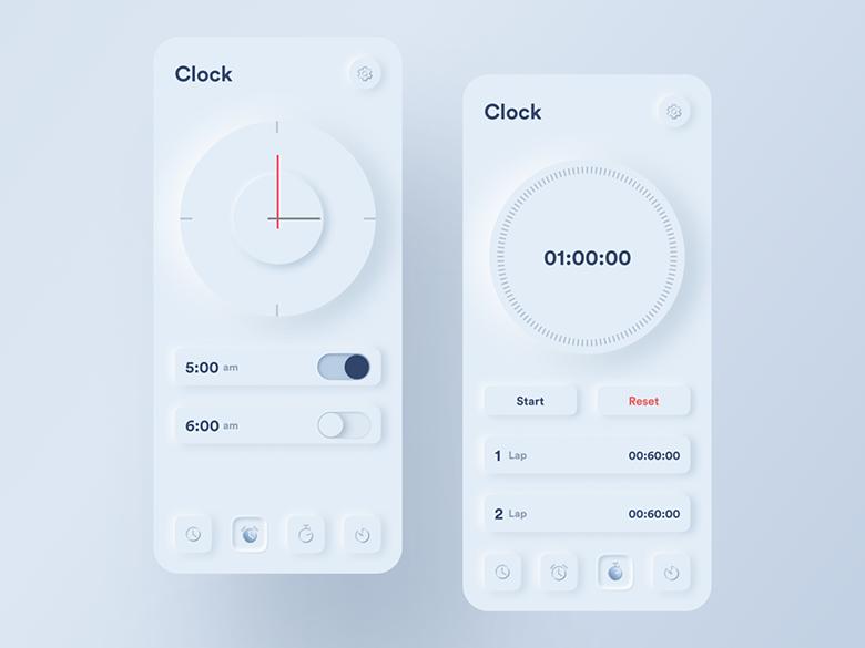 تصور کنید در سال 2020 سبک طراحی اسکیومورفیسم به اسمارت فون ها و ساعت های هوشمند بازگردد
