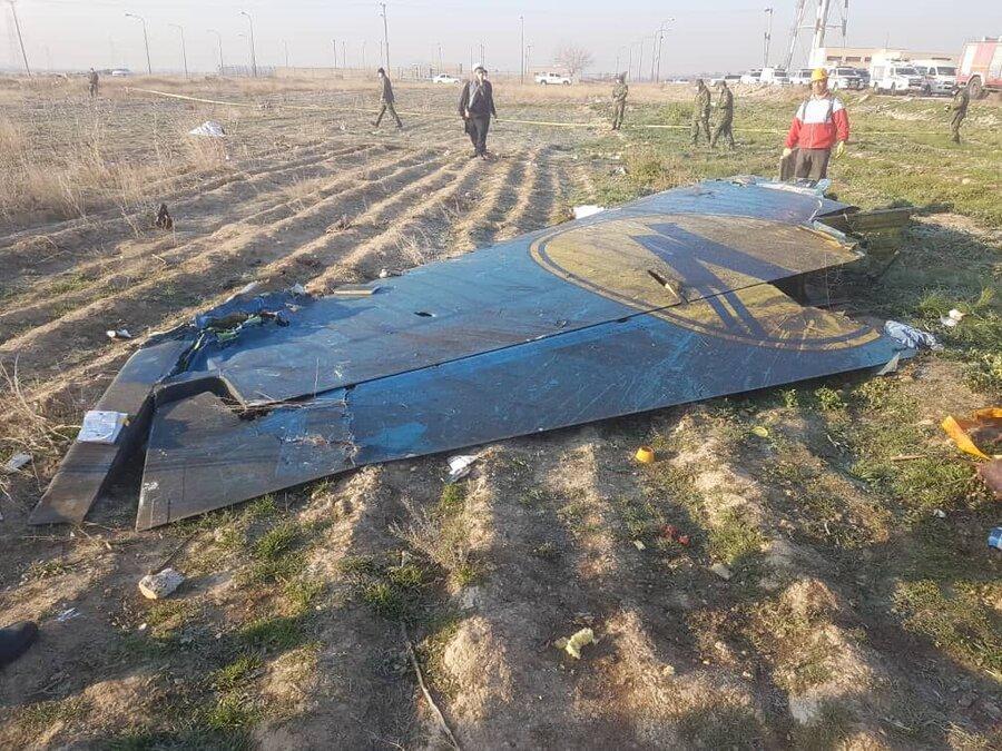 سقوط هواپیمای اوکراینی در نزدیکی فرودگاه امام ، 176 نفر جان باختند ، دهه شصتی ها؛ بیشترین آمار در میان مسافران ، کم سن ترین مسافر یک ساله و نیمه بود