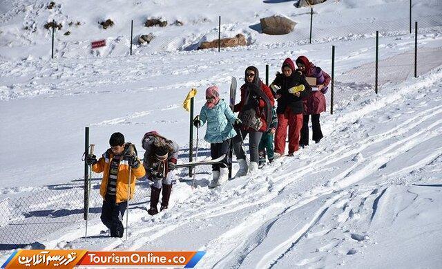 پیست اسکی پاکل یکی از اصلی ترین ظرفیت های گردشگری زمستانی استان مرکزی