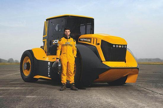 دیدار با سریع ترین تراکتور دنیا!