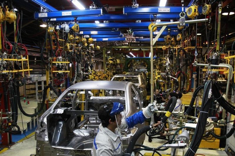 افت 25 درصدی فراوری خودرو در 9 ماهه سال جاری