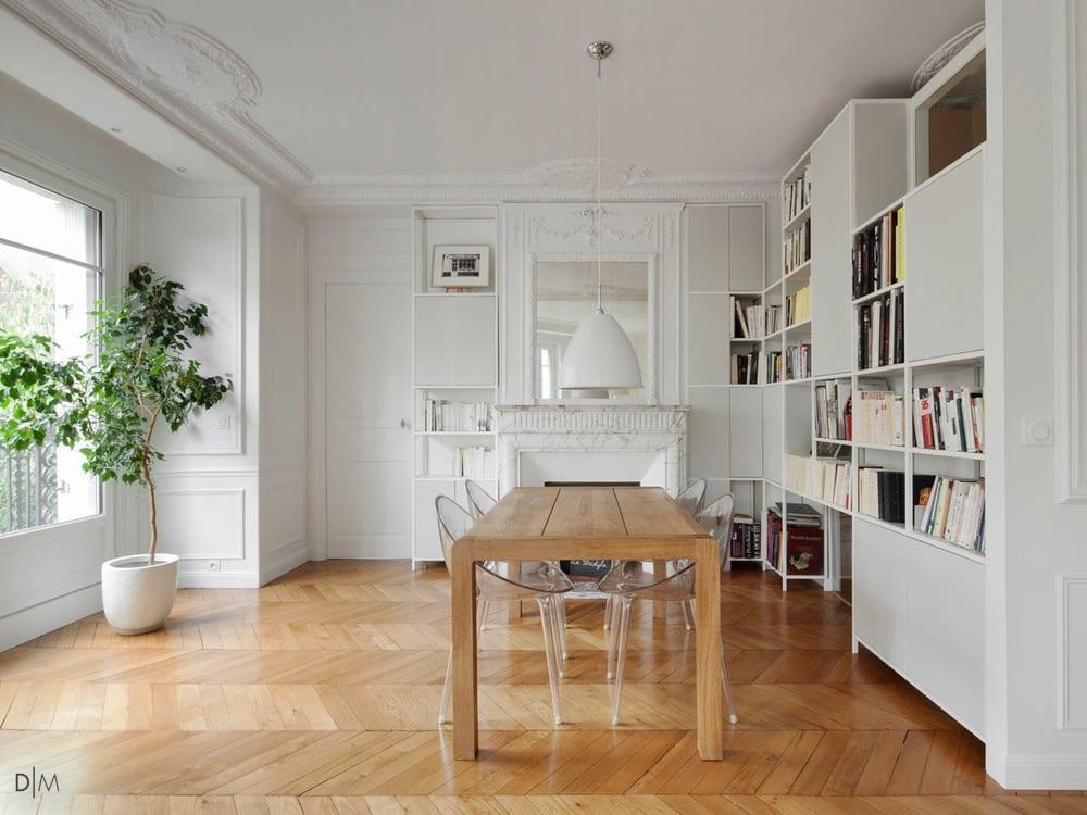 آپارتمانی در قلب پاریس
