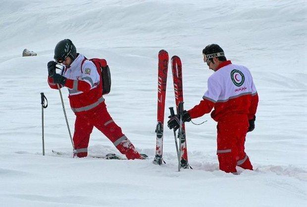 امدادرسانی به 3183 نفر در کولاک و برف