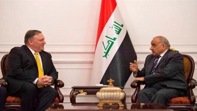 پامپئو: برای مذاکرات جدی با عراق درباره حضور نظامی آمریکا در این کشور آماده ایم