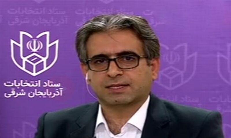 خبرنگاران نتایج انتخابات حوزه انتخابیه تبریز تا 1.5 ساعت آینده اعلام می گردد