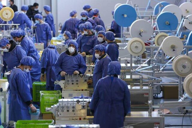 بهره برداری از دستگاه نانوالیاف ایرانی در بزرگترین کارخانه فراوری ماسک
