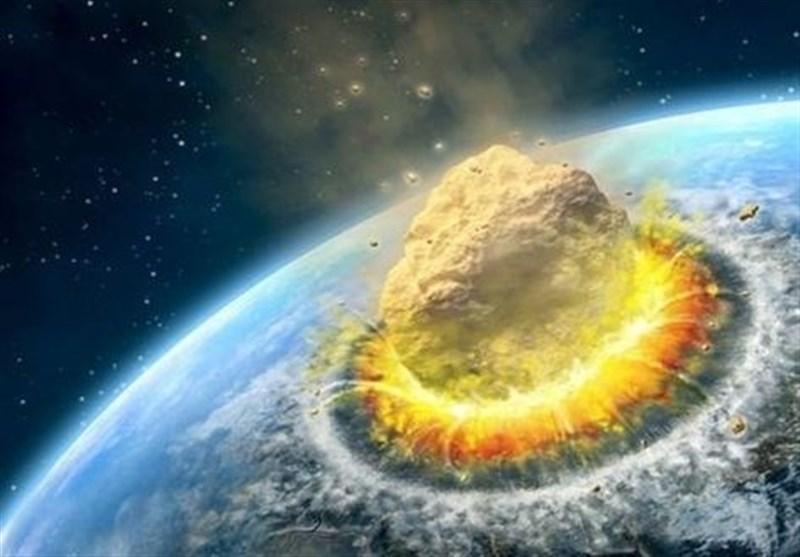 احتمال برخورد شهاب سنگ به زمین