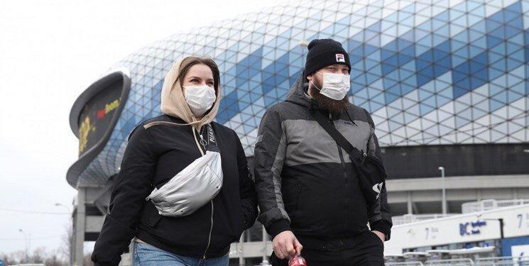 افزایش تعداد مبتلایان به کرونا در روسیه
