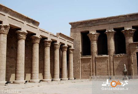 معبد تاریخی ادفو در مصر