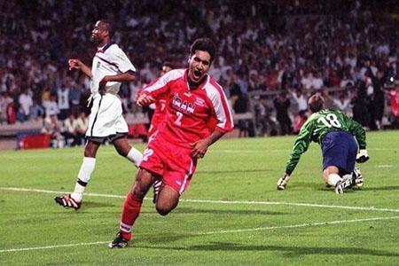 خاطره بازی فیفا با نخستین پیروزی ایران (عکس)