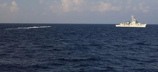 چین در دریای جنوبی رزمایش برگزار کرد
