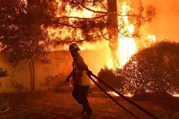 آمریکا مهار آتش سوزی در اورگن را به گارد ملی سپرد