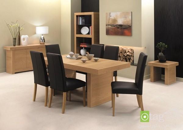 میز ناهارخوری 6 نفره در سبک های مدرن، کلاسیک و امروزی