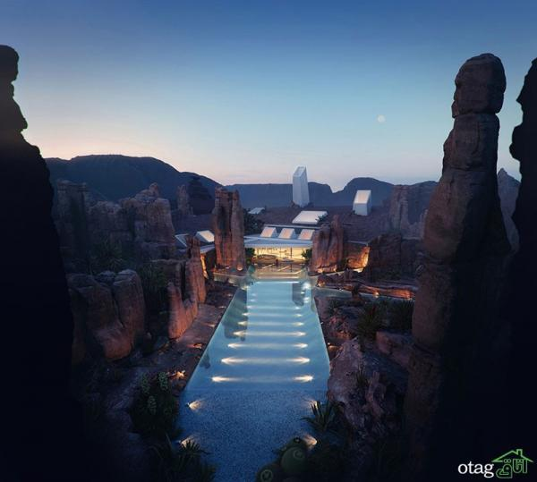 ویلاهای لوکس دنیا در مناطق کویری و صحرایی با طراحی بی نظیر