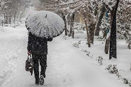 بارش شدید باران و برف در 10 استان