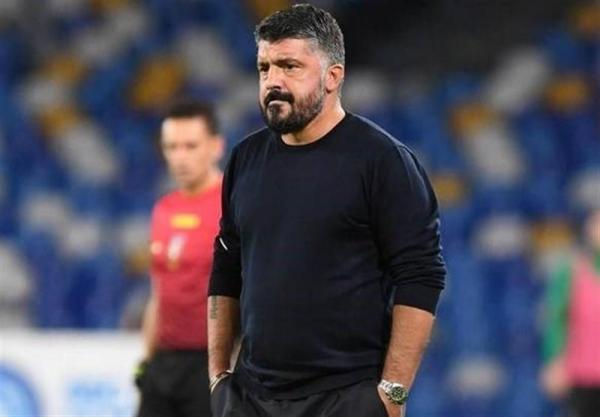 چرا گتوسو با چشم بند بازی تیمش مقابل لاتزیو را تماشا کرد؟