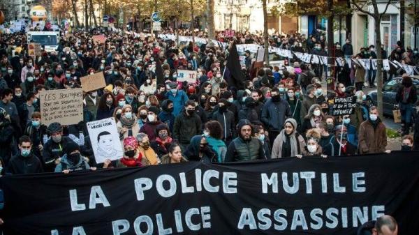 اعتراضات جدید در فرانسه علیه طرح امنیتی