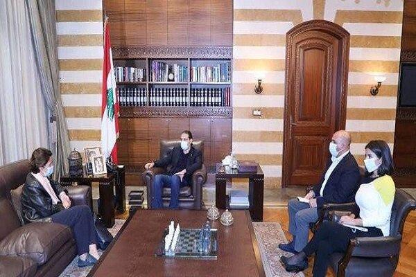 رایزنی نخست وزیر مامور تشکیل کابینه لبنان با سفیر فرانسه
