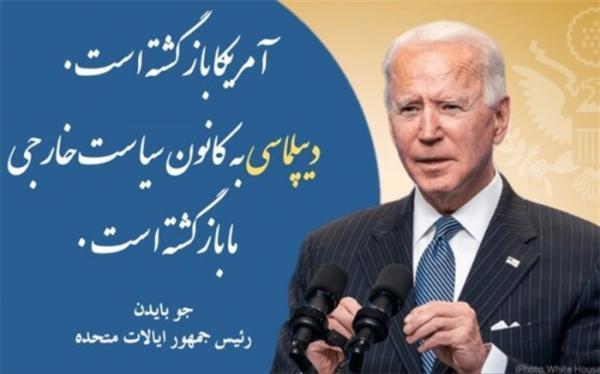 پیغام بایدن به زبان فارسی