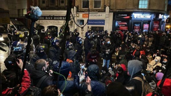 خبرنگاران بریستول، کانون اعتراض ها به لایحه افزایش قدرت پلیس انگلیس