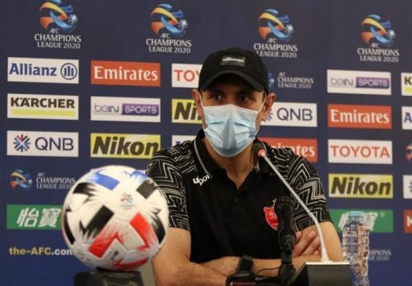 خبرنگاران گل محمدی: بازیکنانم مقابل الریان ذهنیت برنده داشتند
