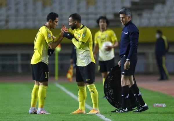 علی محمدی: اگر زودتر گل می زدیم می توانستیم برنده باشیم، فشارهای طول هفته با درگیری ها خودش را نشان داد