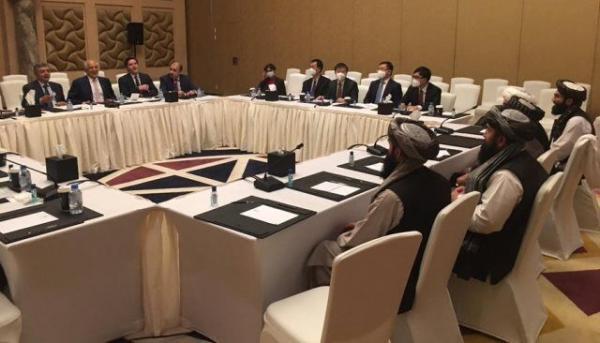 خبرنگاران نشست صلح افغانستان در دوحه برگزار شد