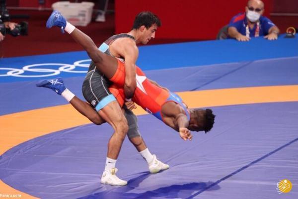 زمان 3 مبارزه حساس گرایی، ساروی و میرزازاده در المپیک
