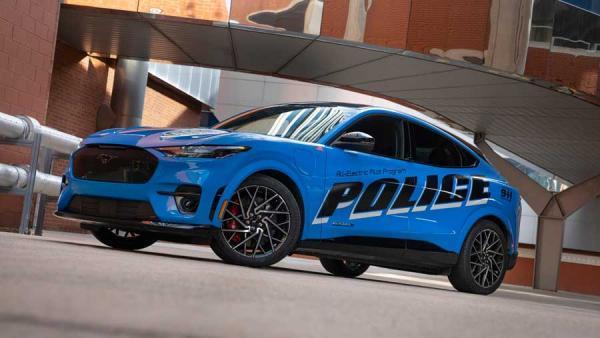 خودروی تازه ناوگان پلیس آمریکا